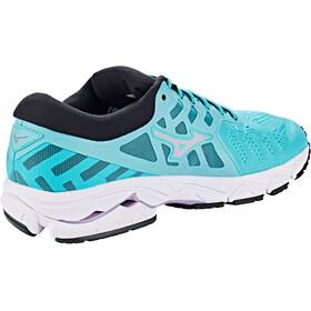 Mizuno Wave Ultima 11 Shoes Women angel blue/lavender fost/black